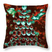 Holiday Shine 3 Throw Pillow