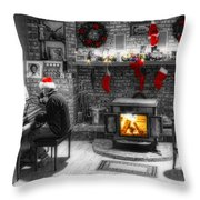 Holiday Spirit Magic Dream Throw Pillow