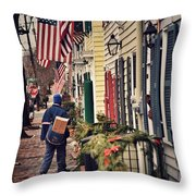Holiday Wishes Iv Throw Pillow