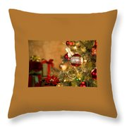 Holiday's 2 Throw Pillow