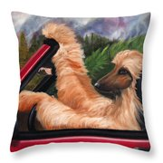 Holiday's Forever Throw Pillow by Terry  Chacon