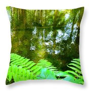 Holiest Of All The Spots On Earth Throw Pillow