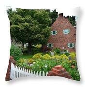 Holland English Garden Throw Pillow