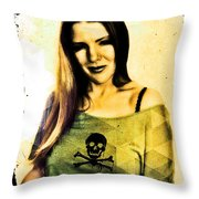 Holly 3 Throw Pillow