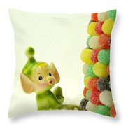 Holly The Pixie Throw Pillow
