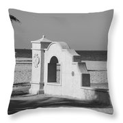 Hollywood Beach Wall Throw Pillow
