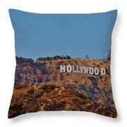 Hollywood Throw Pillow
