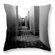 Holocaust Memorial Two Throw Pillow