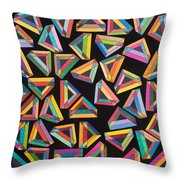 Holomorphic Interaction Throw Pillow
