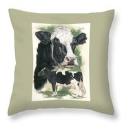 Holstein Throw Pillow