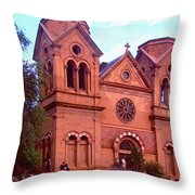 Holy Blessings Throw Pillow