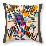 Holy Everywhere Throw Pillow