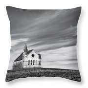 Holy Field Throw Pillow