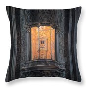 Holy Grail Valencia Spain Throw Pillow