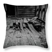Holy Ground Throw Pillow