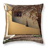 Holy Grounds Rota Spain Throw Pillow