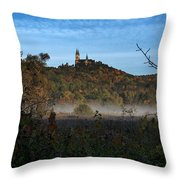 Holy Hill In Fall Throw Pillow
