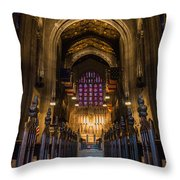 Holy House Throw Pillow