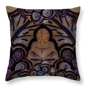 Holy In Peace And Acryl Throw Pillow
