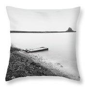 Holy Island - Minimalism Throw Pillow