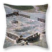 Holy Land: Caravansary Throw Pillow