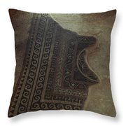 Holy Land: Masada Throw Pillow