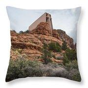 Holy Land Throw Pillow
