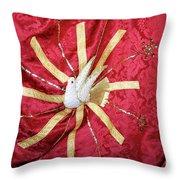 Holy Spirit Flag Throw Pillow
