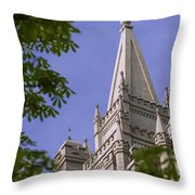 Holy Temple Throw Pillow
