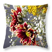 Holy Week Flowers 2017 5 Throw Pillow