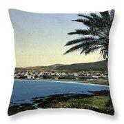 Holyland - Mount Carmel Haifa Throw Pillow