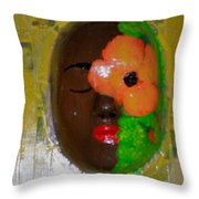 Homage Three Throw Pillow