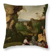 Homage To A Poet Throw Pillow