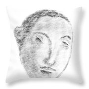 Homage To Georges Seurat Throw Pillow