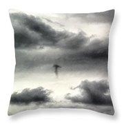 Homage To Stieglitz #3 Jellyfish Throw Pillow