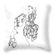 Homage To Tanguy Throw Pillow