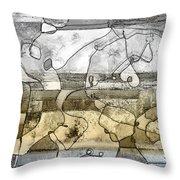 Homage To The Gernikara Throw Pillow
