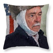 Homage To Van Gogh Two Throw Pillow