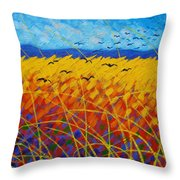 Homage To Vincent Throw Pillow
