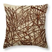 Home - Tile Throw Pillow