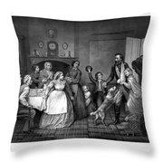 Home Again - Civil War Throw Pillow