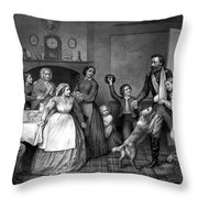 Home Again - Civil War Throw Pillow