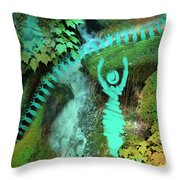 Home Awaits Me Throw Pillow