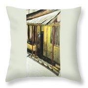 Home Corner Throw Pillow