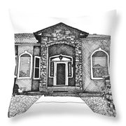 Home Front Throw Pillow