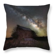 Home Grown Milky Way  Throw Pillow