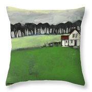 Home Is Where The Heart Is Poster Throw Pillow