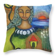 Home Is Where Your Heart Is Throw Pillow by Prerna Poojara