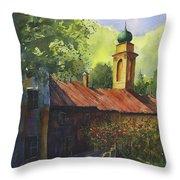 Home Of Long Ago  Throw Pillow