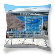 Home Of The Cowboys Throw Pillow